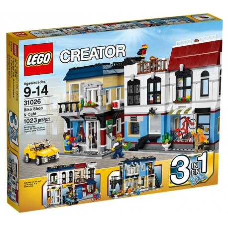 LEGO CREATOR 31026 Miasteczko Kawiarnia Rowery