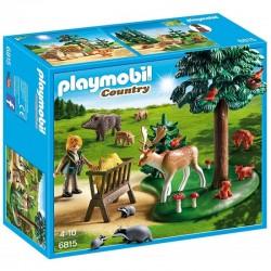 PLAYMOBIL 6815 COUNTRY Polanka z Karmą dla Zwierząt