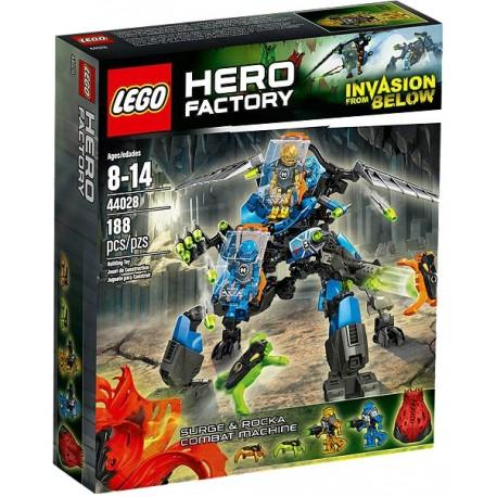 LEGO HERO FACTORY 44028 Maszyna Bojowa Surga i Rocka
