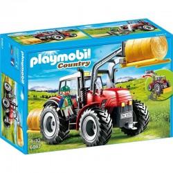 PLAYMOBIL 6867 COUNTRY Duży Traktor z Wyposażeniem
