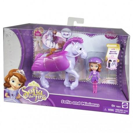 Mattel - Y6651 - Jej Wysokość Zosia - Zosia i Minimus