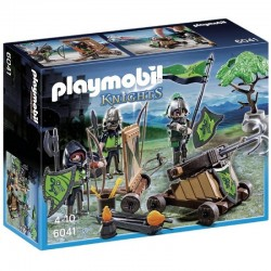 PLAYMOBIL 6041 Knights - Rycerze - ODDZIAŁ BOJOWY RYCERZY HERBU WILKA