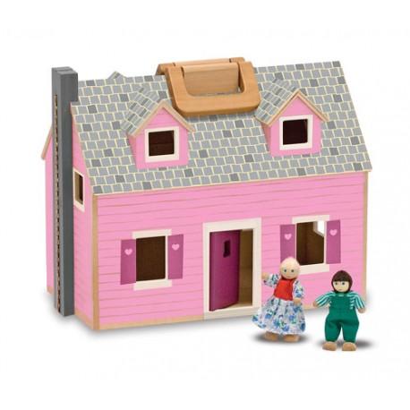 Melissa & Doug - 13701 - Drewniany Domek dla Lalek