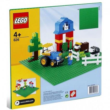 LEGO 626 Zielona Płytka Budowlana