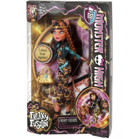 Monster High Upiorne Połączenie CCB54 - Cleolei