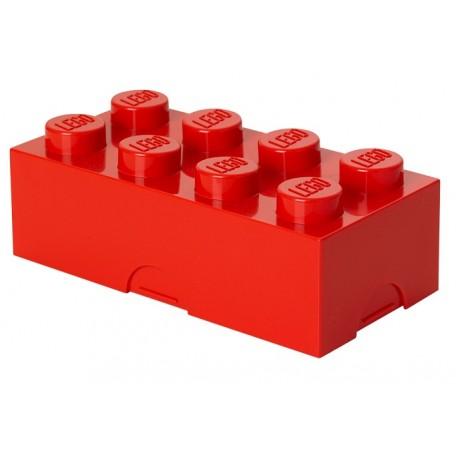 LEGO Pojemnik na Śniadanie Czerwony LUNCH BOX