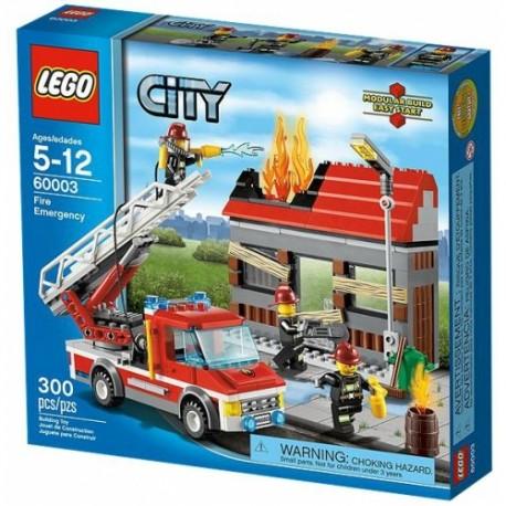 LEGO CITY 60003 Straż Alarm Pożarowy