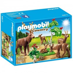 PLAYMOBIL 6817 Country - RODZINA JELENI
