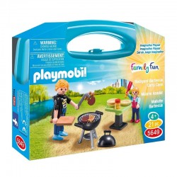 PLAYMOBIL 5649 Family Fun Walizeczka - BARBECUE
