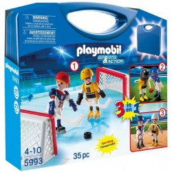 PLAYMOBIL 5993 Sports & Action - HOKEJ, BASEBALL I FOOTBALL