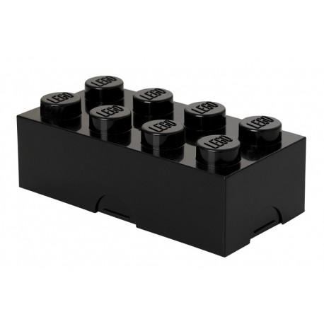 LEGO Pojemnik na Śniadanie Czarny LUNCH BOX