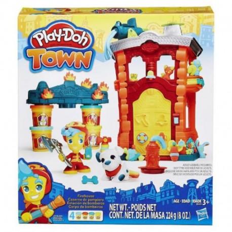 HASBRO B3415 - Ciastolina Play-Doh - REMIZA STRAŻACKA