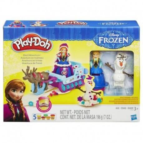 HASBRO B1860 - Ciastolina Play-Doh - KRAINA LODU ANNA