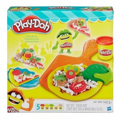HASBRO B1856 - Ciastolina Play-Doh - PIZZA PARTY