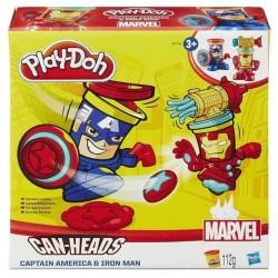 HASBRO B0745 - Ciastolina Play-Doh - Sceny Fantasy - IRON MAN I KAPITAN AMERYKA