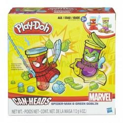 HASBRO B0744 - Ciastolina Play-Doh - Sceny Fantasy - SPIDER MAN I ZIELONY GOBLIN