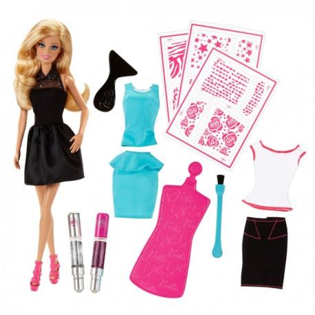 Mattel - CCN12 - Lalka - Barbie - Brokatowe Studio