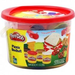 HASBRO 23412 - Ciastolina Play-Doh w Wiaderku - PIKNIK