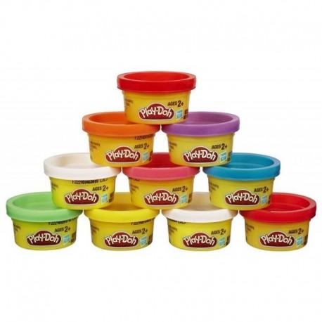HASBRO 22037 - Ciastolina Play-Doh - Zestaw Uzupełniający 10 KOLORÓW