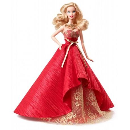 Mattel - BDH13 - Lalka - Barbie - Świąteczna Barbie