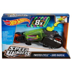 MATTEL DPB66 - Pojazd Super Winders - TWISTED CYCLE