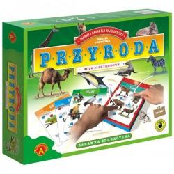 ALEXANDER 7190 - Zabawka Edukacyjna - Mózg Elektronowy - Wersja Podróżna - PRZYRODA