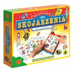 ALEXANDER 7206 - Zabawka Edukacyjna - Mózg Elektronowy - Wersja Podróżna - SKOJARZENIA