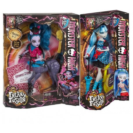 Monster High Upiorne Połączenie Dwupak - Avea Trotter i Ghoulia Yelps