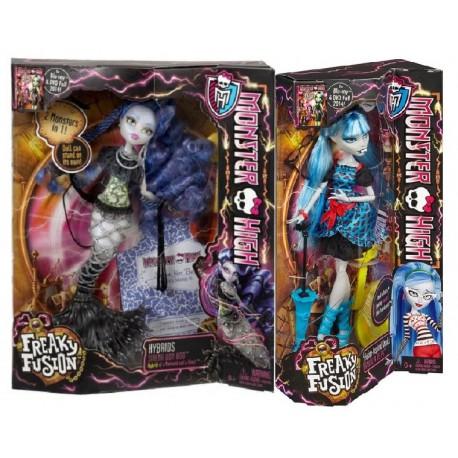 Monster High Upiorne Połączenie Dwupak - Sirena von Boo i Ghoulia Yelps