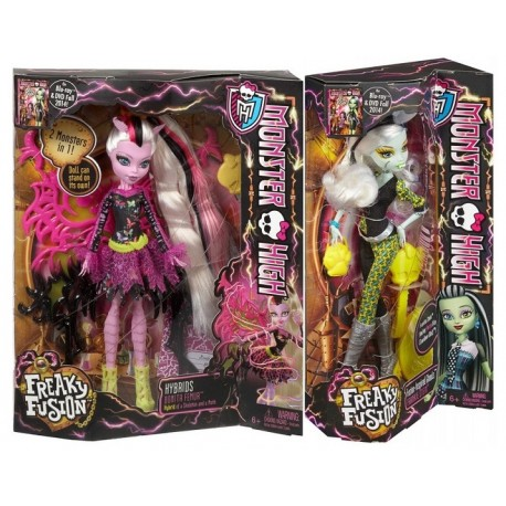 Monster High Upiorne Połączenie Dwupak - Bonita Femur i Frankie Stein