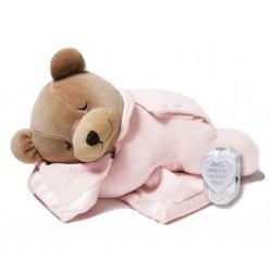PRINCE LIONHEART T20161125 - Szumiący Miś Usypiacz - TUMMY SLEEP ORIGINAL BEAR - RÓŻYCZKA