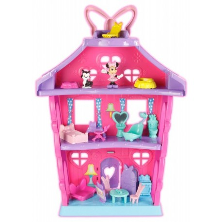 Fisher-Price - BDH01- Minnie - Śliczny Domek Minnie