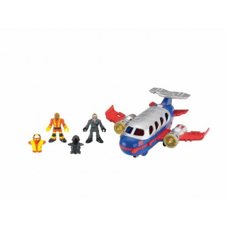 Fisher-Price - BDY48 - Imaginext - Jumbo Jet