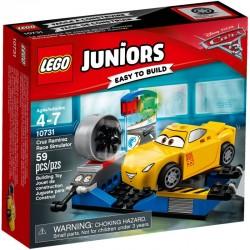 LEGO JUNIORS 10731 Symulator Wyścigu Cruz Ramirez NOWOŚĆ 2017