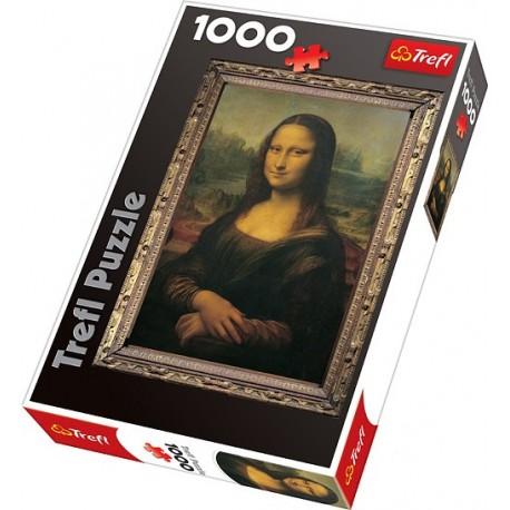 Trefl - 10002 - Puzzle 1000 - Mona Lisa