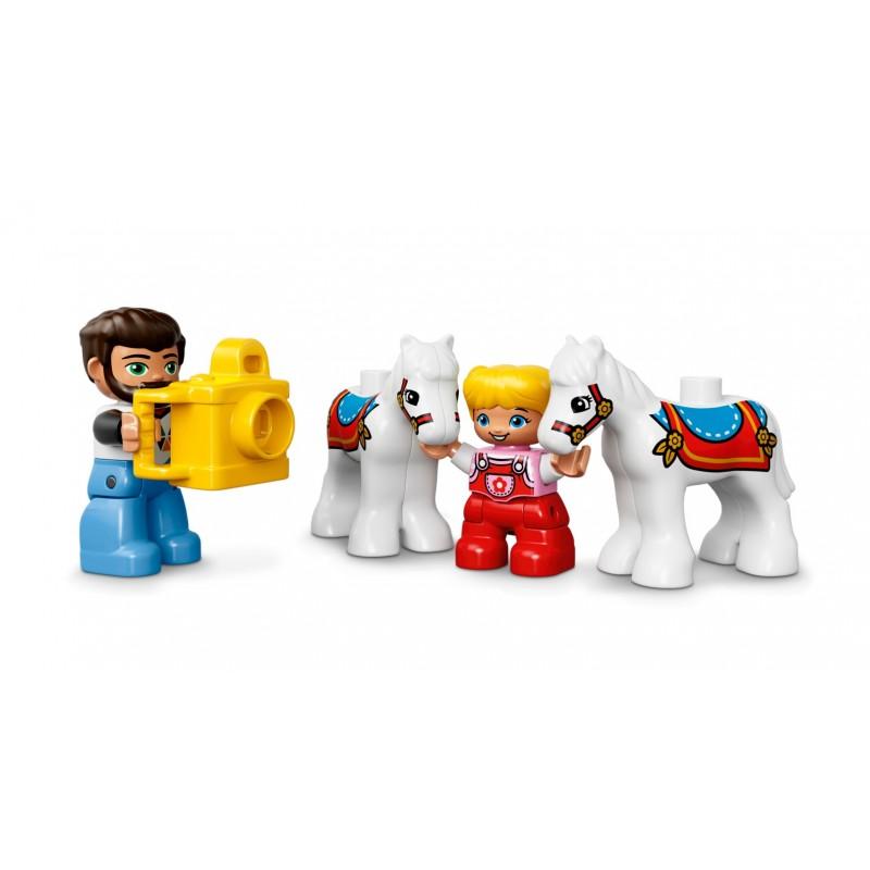Lego Duplo 10840 Town Duże Wesołe Miasteczko Nowość 2017