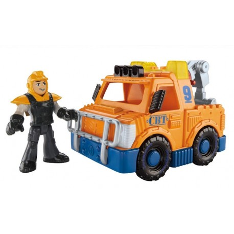 Fisher-Price - BDY54 - Imaginext - Pomoc Drogowa - Laweta