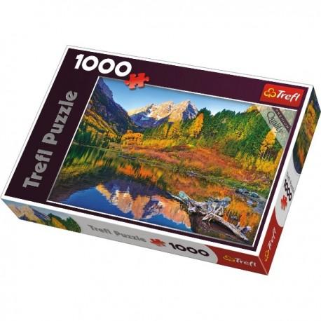 Trefl - 10353 - Puzzle 1000 - Jezioro Maroon, Aspen, Kolorado