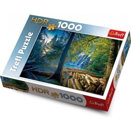 Trefl - 10288 - Puzzle HDR 1000 - Tajemniczy Las