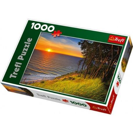 Trefl - 10214 - Puzzle 1000 - Bałtyk o Zachodzie Słońca
