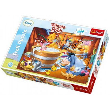 Trefl - 10310 - Puzzle 1000 - Disney Kubuś Puchatek