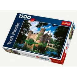 Trefl - 26074 - Puzzle 1500 - Zamek Moyland, Północna Nadrenia