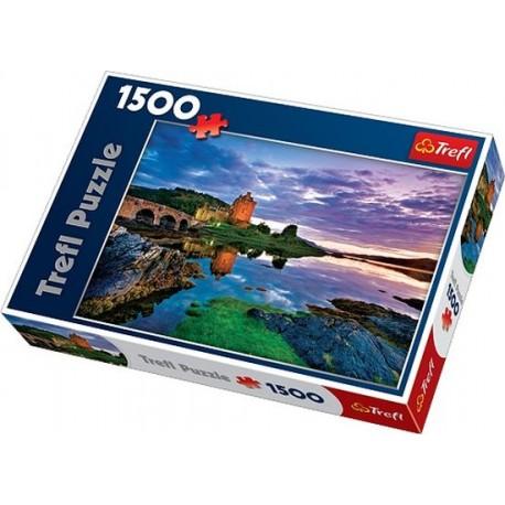 Trefl - 26100 - Puzzle 1500 - Zamek Eilean Donan