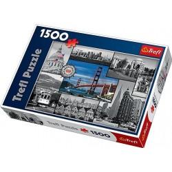 Trefl - 26127 - Puzzle 1500 - Kolaż San Francisco