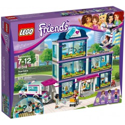 LEGO FRIENDS 41318 Szpital w Heartlake NOWOŚĆ 2017!