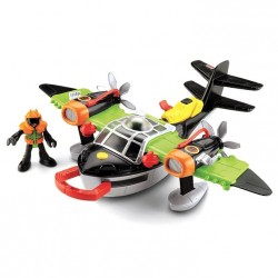Fisher-Price - X5248 - X5249 - Imaginext - Samolot - Skorpion