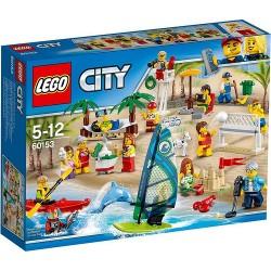 LEGO CITY 60153 Town: Zabawa na Plaży NOWOŚĆ 2017