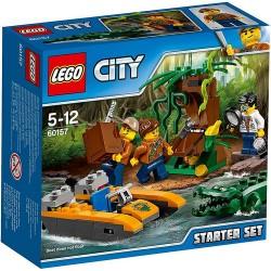 LEGO CITY 60157 Dżungla Zestaw Startowy NOWOŚĆ 2017