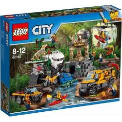 LEGO CITY 60161 Baza Dżungli NOWOŚĆ 2017
