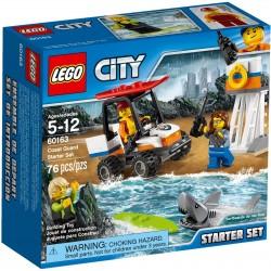 LEGO CITY 60163 Straż Przybrzeżna - Zestaw Startowy NOWOŚĆ 2017